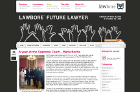The Future Lawyer blog today